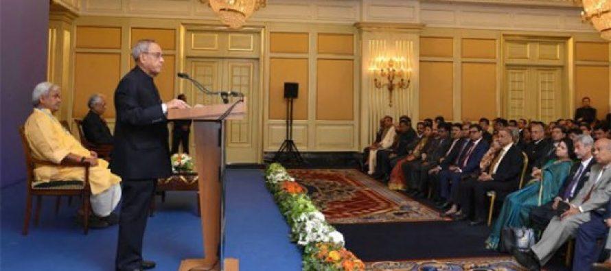 Huge potential for enhancing business ties with Russia : President Pranab Mukherjee
