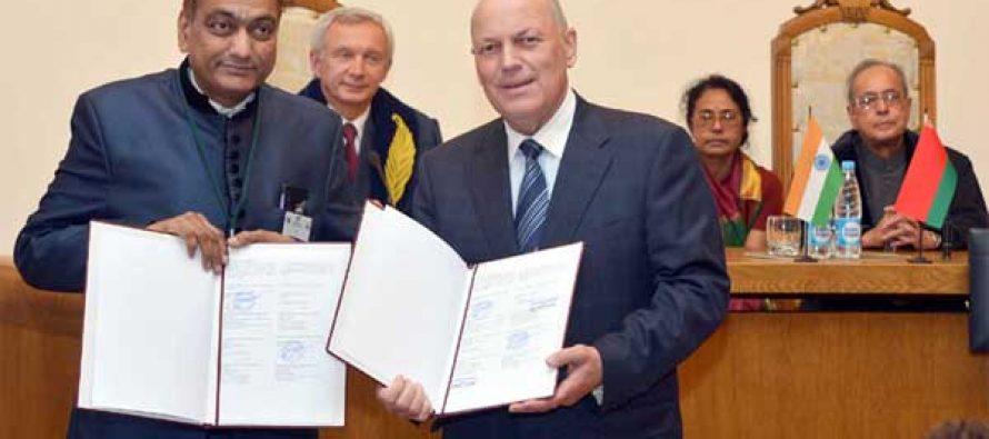 India, Belarus ink six agreements during Mukherjee visit