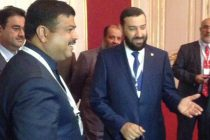 The MoS for Petroleum and Natural Gas (IC), Dharmendra Pradhan meeting the Oil Minister of Kuwait, Dr. Ali Saleh Al-Omair,