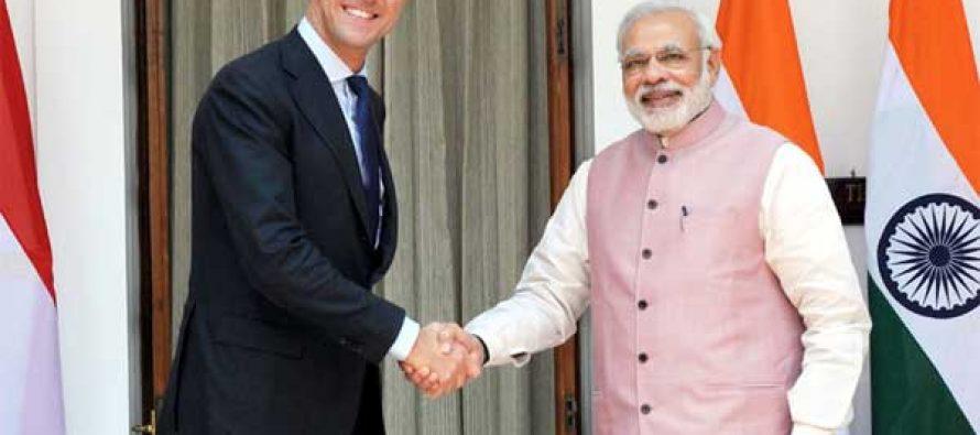 Modi, Rutte greet each other in Hindi, Dutch