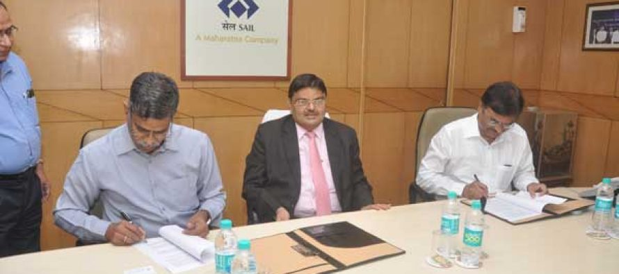 SAIL and MIDHANI sign MoU for R&D in iron and steel industry