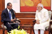 Andhra, Telangana governor meets PM