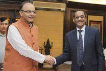 The Minister of Finance & Economic Development, Mauritius, Vishnu Lutchmeenaraidoo meeting the Minister for Finance