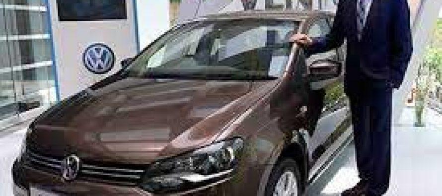 Volkswagen launches new model of sedan Vento
