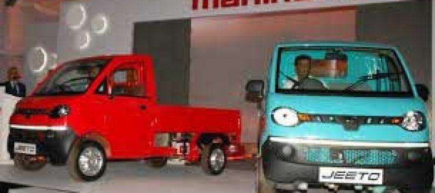 Mahindra Auto's July YoY PV sales up 91%