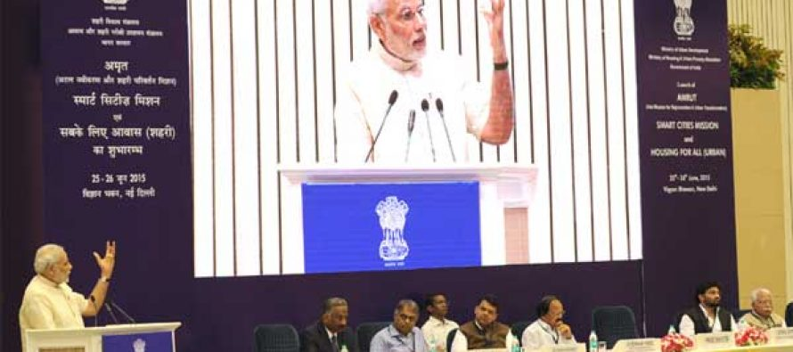 Smart cities to be decided by citizens: Modi