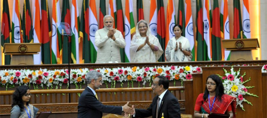 India, Bangladesh ratify historic land swap deal, ink 22 agreements