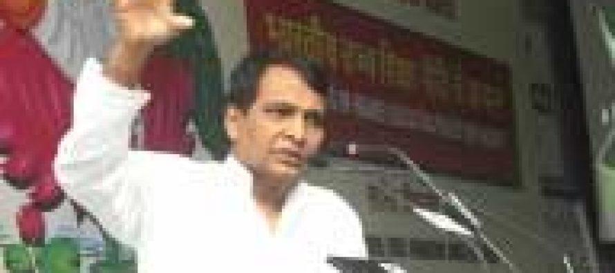Railways to see $120 b investments: Prabhu