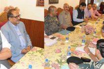 Rajnath Singh in Kashmir on two-day visit