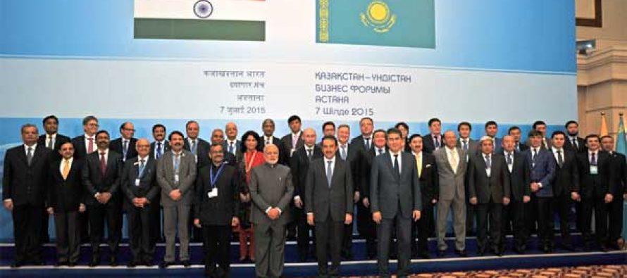 Modi invites Kazakhstan to 'Make in India'