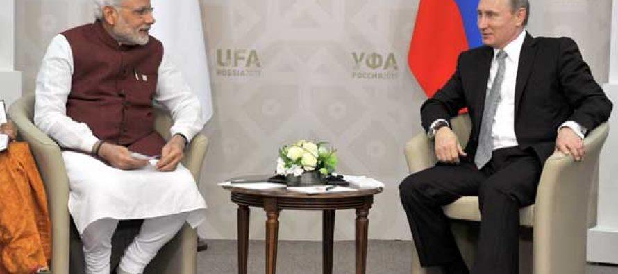 India to be made SCO permanent member: Putin to Modi