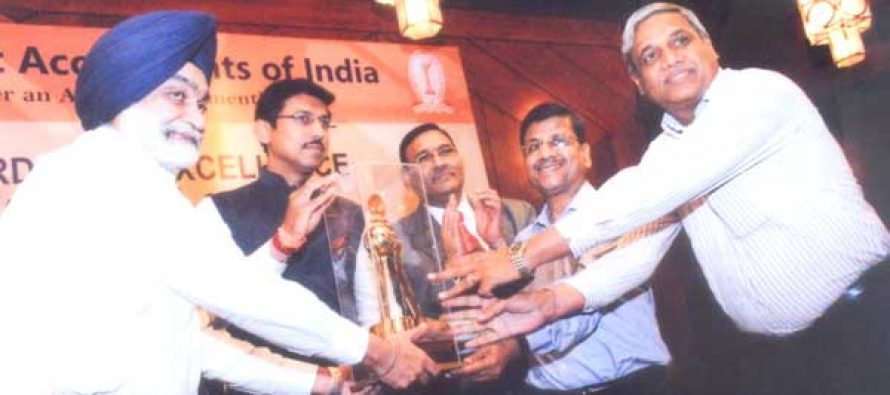 CWC Receives First Award – under the category of Public Service Sector