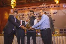 RailTel's Bags 12th National Awards for Excellence in Cost management 2014