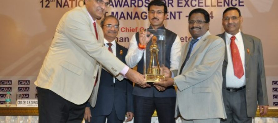 NLC bags national  cost management award