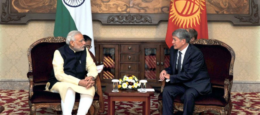 India, Kyrgyzstan sign four agreements