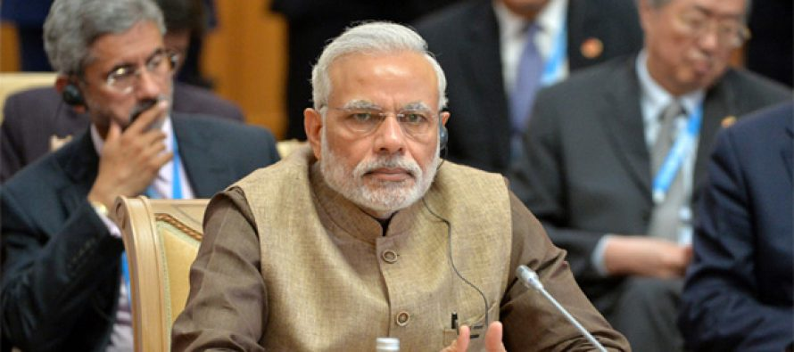 Eurasia can regain role as trade route of world: Modi