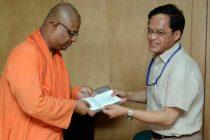 DVC handholds Ramakrishna Mission