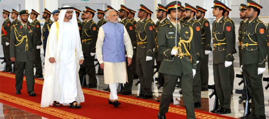 Modi in UAE: Talks investment, visits mosque, meets diaspora
