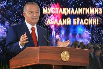 Islam Karimov Addresses with Congratulatory Speech at Independence Day Celebrations