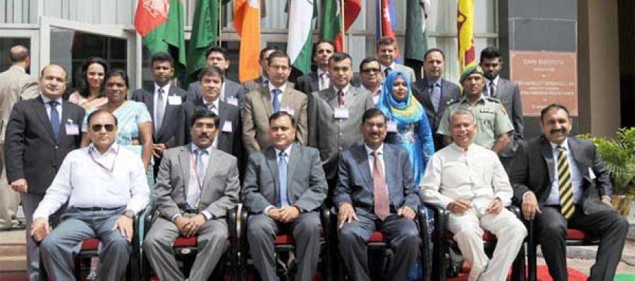 The Member Secretary, NDMA, R.K. Jain inaugurated the two-day Advance Coordination Conference ahead of the SAADMEx-2015