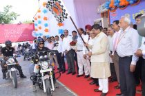 MoP&NG, flags-off IndianOil – sponsored Pathfinders Motorbike Expedition