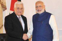 Prime Minister, Narendra Modi meeting the President of Palestine, Mahmoud Abbas, in New York on September 28, 2015.
