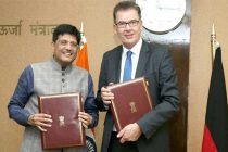 MoS (IC) for Power, Coal and New and Renewable Energy, Piyush Goyal and the Federal Minister for Economic Cooperation Development of Germany, Dr. Gerd Mueller