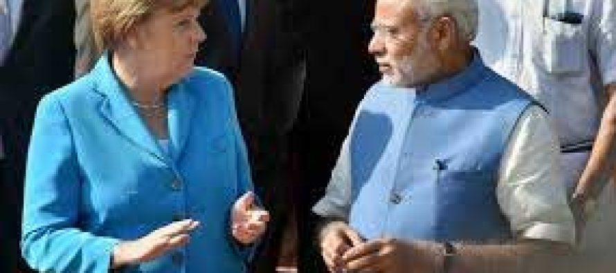 Modi, Merkel seek to give economic muscle to Indo-German ties