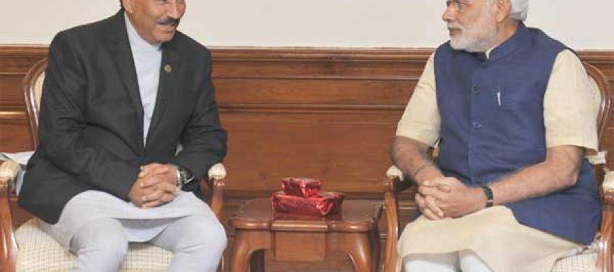 India desires a united, inclusive Nepal, Modi tells Nepalese deputy PM