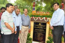 """CMD, NLC inaugurates A Multi beneficial Pathway laid as """"8"""" at Neyveli"""