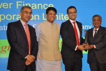 PFC received Dun & Bradstreet Infra Award 2015