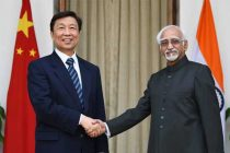 Vice President, Mohd. Hamid Ansari meeting the Vice President of the People's Republic of China, Li Yuanchao,