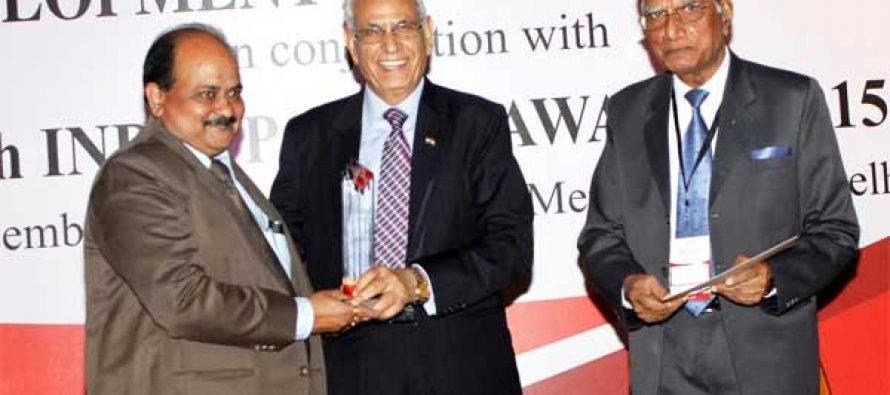 "Best ""Human Resource Management"" Award to NTPC"