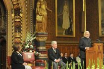 Prime Minister, Narendra Modi addressing the British Parliament, in Westminster, London on November 12, 2015.