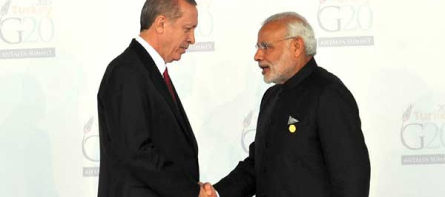 Turkish President to start new diplomatic blitz with India visit