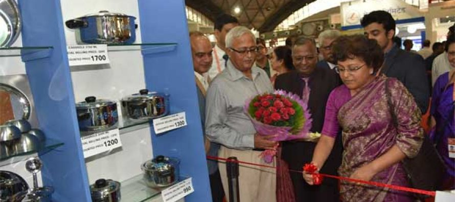 'Make in India' theme at SAIL's IITF pavilion