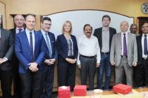 German Parliamentary delegation calls on the Minister for Science & Technology and Earth Sciences, Dr. Harsh Vardhan