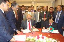 Secretary, Ministry of Shipping, Rajive Kumar and the Secretary, Ministry of Shipping, Government of People's Republic of Bangladesh,