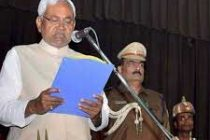 Nitish Kumar sworn in as Bihar CM