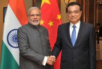 Prime Minister, Narendra Modi meeting the Prime Minister of China, Li Keqiang, in Malaysia on November 21, 2015.