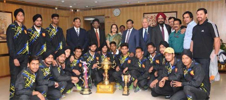 PNB Junior Hockey Team Wins Nehru Hockey Tournament