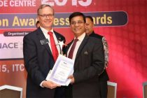 National Association of Corrosion Engineers (NACE)  presented Corrosion Awareness Award -2015 to Dr. Pradeep Jain, General Manager, NTPC Energy