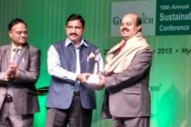 S.K.Acharya, CMD, NLC honoured with  Life Time Achievement Award