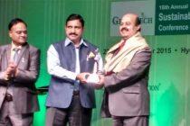 S.K.Acharya, CMD, NLC honoured with  Life Time Achievement Award