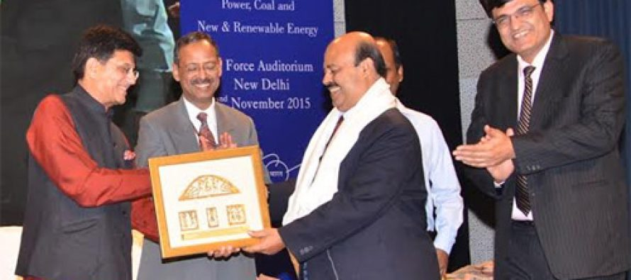 NLC felicitated for accomplishing and being part of  Swachh Bharat