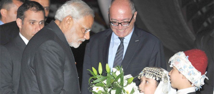 Modi arrives in Turkey for G20 summit