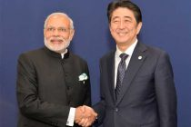 Prime Minister, Narendra Modi meeting the Prime Minister of Japan, Shinzo Abe, on the sidelines of COP21 Summit, in Paris