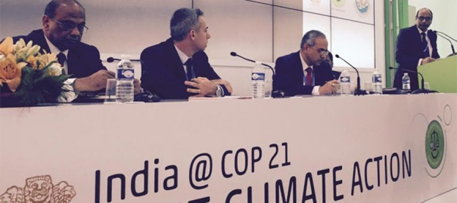 Indian Participation in COP-21