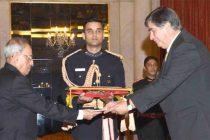 Ambassador-designate of Portugal, Joao Do Carmo Ataide Da Camara presenting his credential to the President, Pranab Mukherjee,