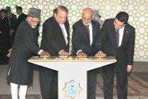 Vice President, Mohd. Hamid Ansari along with the President of Turkmenistan, Gurbanguly Berdimohamedov